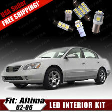 15 PCS Xenon White LED Interior Package Kit For 2002-2006 Nissan Altima + Gifts