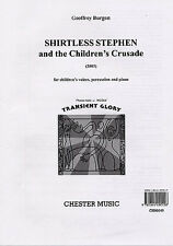 Shirtless Stephen & The Childrens Crusade Vocal Score Sing Choral Music Book