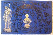 ALBUM DU FIGARO / 1875 / GRAVURES, FABLES D'ESOPE LAFONTAINE, CHAM, BERTALL...