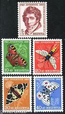 Switzerland - Scott #B247 - 51 - Mint VF-NH - 1955 - Butterflies