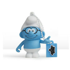 The Smurfs - Brainy Smurf 3D Design USB Flash Drive 8GB