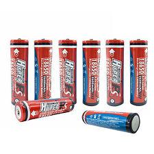 8PCS 18650 2600mAh 3.7V Li-ion Rechargeable Battery for Flashlight Laptop E-Bike