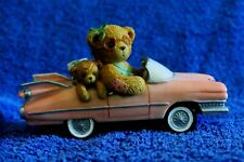 "Cherished Teddies Evelyn ""A Girl With Style!� Pink Cadillac, 104662"