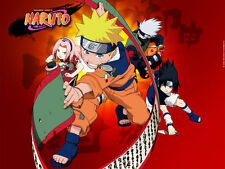 Naruto, Naruto Shippuden UNCUT Complete Anime Series + Movies + Specials