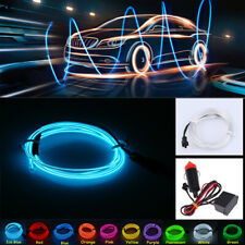 2M EL Wire Ice Blue light Neon Lamp Atmosphere Lights Accessories Decor