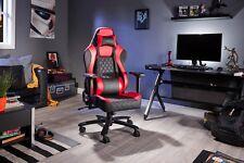 X Rocker Delta XL Pro Series IV PC Office Chair (Black/Red)
