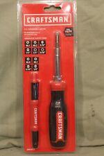 Craftsman 6-IN-1 Screwdriver & 4 way Pen, NIB