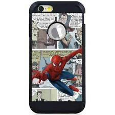 Apple iPod Touch 5/6 5th/6th Gen. Hybrid Case Cover Comics Spiderman Cartoon V