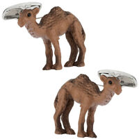 HUMP DAY Camel Cufflinks Hand Painted Direct from Cuff-Daddy