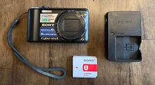 Sony Cyber-shot DSC-H55 14.1MP Digital Camera - Black