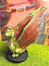 Brass Dragon Wyrmling D&D Miniature Dungeons Dragons pathfinder young 23 small A
