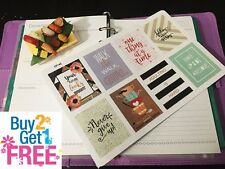 PP145 -- Inspiration Quotes Planner Stickers for Erin Condren (8pcs)BUY2GET1FREE