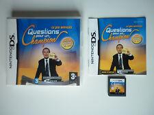Questions pour un champion 20 ans Jeu Vidéo Nintendo DS
