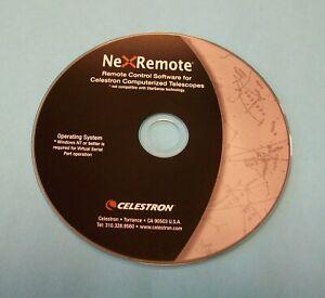 NexRemote CD For Celestron Computerized Telescopes + Two Extra Programs