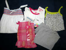Brand New Carter's Girls size 4/5 Mixed clothing lot of 5 Tops and bottoms NWT
