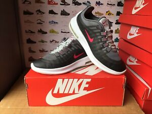 """Women's Nike""""AIR MAX AXIS""""Trainers Size UK 5-EU 38 Anthracite-Pink USED TWICE"""