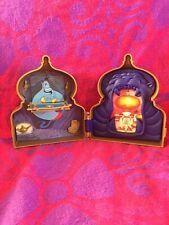 Vintage 1990s Mattel Disney Aladdin Playset Case & Magic Carpet