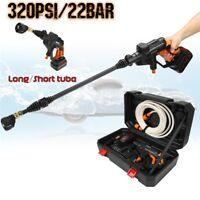 WS-G500 20V Portable Pressure Cleaner Cordless Car Washer Gun Spray +Battery