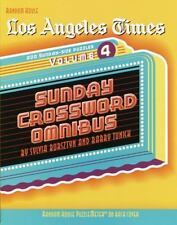 Los Angeles Times Sunday Crossword Omnibus Vol. 4 by Barry Tunick and Sylvia...