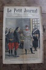 Petit journal dibujada nº954 1909 General Alemana desertores en francés - Perro
