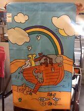 New listing Noah's Ark Christian / Bible Handmade Decorative Flag