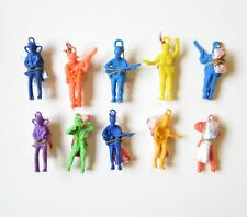 """5 NEW ARMY PARACHUTE MEN 2.25"""" PARATROOPERS TOY SOLDIERS PARTY FAVORS"""