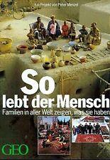 So lebt der Mensch von Menzel, Peter | Buch | Zustand gut