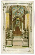 THE HOLY STAIRS,LA SCALA SANTA,PONTIOUS PILOT PASSION OF CHRIST POSTCARD