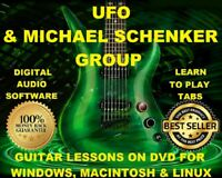 UFO 112 Michael Schenker Group 95 Guitar & Bass TABS Lesson CD 34 BTs MEGA BONUS