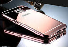 Luxury Aluminum Ultra-thin Mirror Metal Case Cover for Samsung Galaxy S6 S7 Edge
