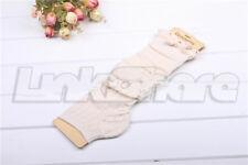 US NEW Women Ladies Winter Leg Warmers Crochet Knit Boot Socks Toppers Cuffs