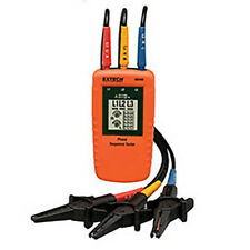 Extech 480400 Phase Sequence Tester Displays Graphical Phase