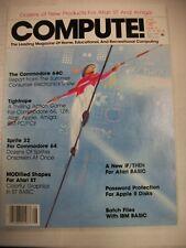 Compute! (1986) Atari St And Amiga, Commodore 64c, Batch Files with Ibm Basic
