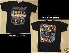 Maroon 5 Tour 2013 Size Large Black T-Shirt