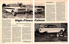 1964 FORD FALCON / COBRA COMPONETS  ~  ORIGINAL 4-PAGE ARTICLE / AD