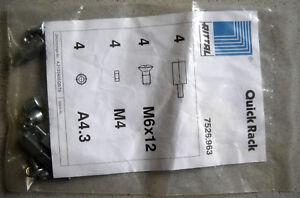 "RITTAL Quick Rack 7526.963 Distanzbolzen 19"" Installationstechnik"