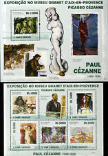 Sao Tome & Principe,Panting,Paul Cezanne-1M/Sh.+1 S/Sh,MNH**.STP134A