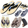 NEW Men's Summer Sport Casual Slippers Beach Flip Flops Slippers Sandals Shoes