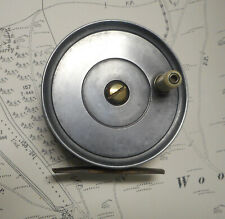 """Vintage JW Young 3 1/2"""" Pattern Fly Reel"""
