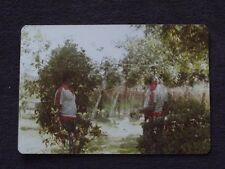 INTERESTING DOUBLE EXPOSURE 1970's  PHOTO - AFRICAN AMERICAN MALE MIRROR IMAGE