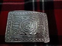 Mens Scottish Highland Swirl Celtic Kilt Belt Buckle/Kilt Belt Buckle/Buckle