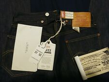 Levi's 501 XX 1933 STF Selvedge Jeans Shrink To Fit Selvage Denim 27X32 cinch