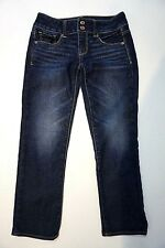"""Women's American Eagle Artist Distressed Cropped Jeans  Inseam 25"""" Sz 0"""