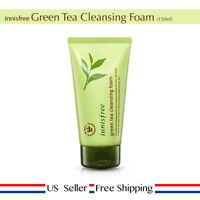innisfree Green Tea Cleansing Foam 150ml Cleanser + Free Sample [ US Seller ]
