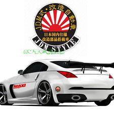 1PC JDM  Rising Sun Tuned Car Japanese Kanji Hellaflush Vinyl Car Sticker Decal