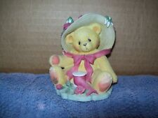 "1997 Cherished Teddies/ Janet/ ""You're as sweet as a Rose"" #336521/ 3"" x 3"""
