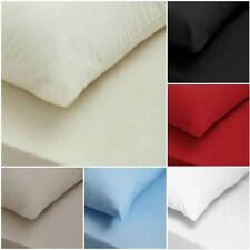 T200 LUXURY 100% EGYPTIAN COTTON SOFT FLAT, FITTED BED SHEETS ALL SIZES