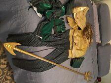 Adult Male Aquaman Cosplay Costume