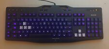 Logitech G105 Illuminated USB Gaming Keyboard Great Working Condition