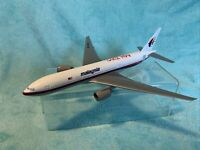 Malaysia Air 50Th Anniversary Boeing 777 1/200 (No Box&Stand & Engine Broke Off)